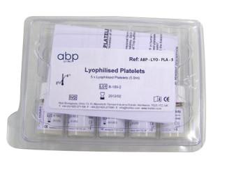 Lyophilized Platelets